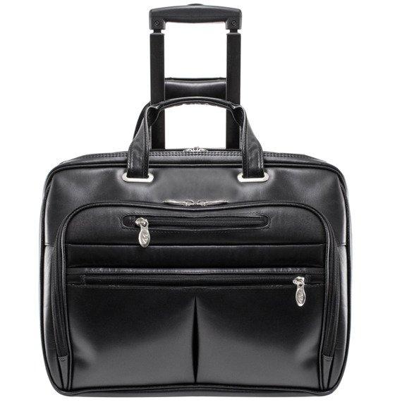 Skórzana walizka na kółkach Wrightwood 80505