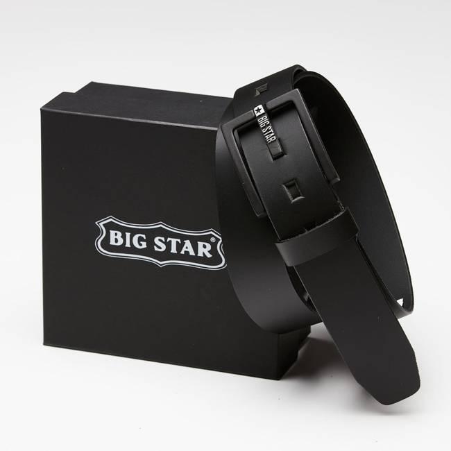 Skórzany pasek męski Big Star HH674104 - rozmiar 90 cm