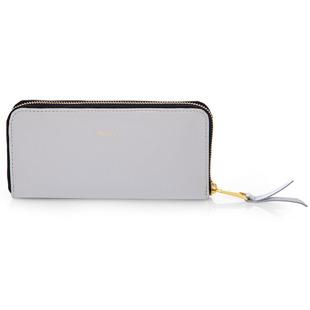 Skórzany portfel damski Felice P02 jasnoszary