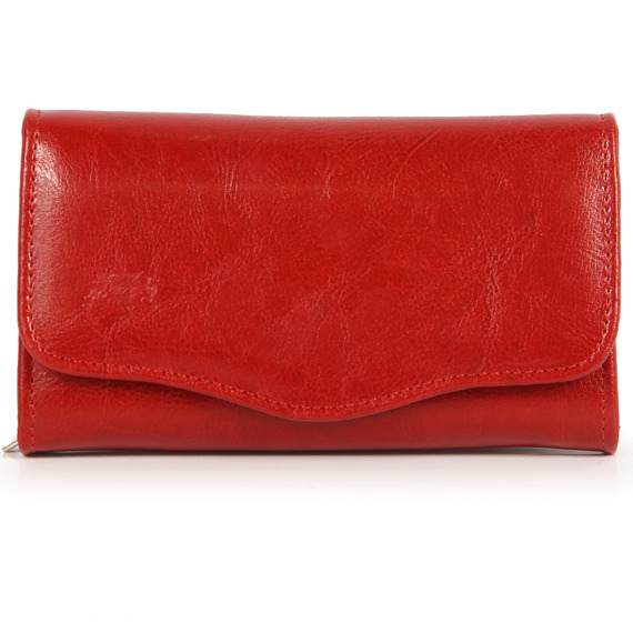 Skórzany portfel damski P76