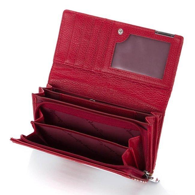 Skórzany portfel damski RFID Jennifer Jones 5288-2