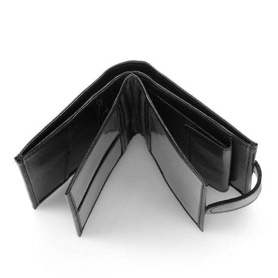 Skórzany portfel męski Brodrene A-03 brązowy