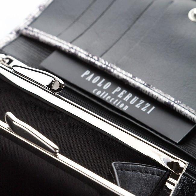 Skórzany portfel motyw zwierzęcy Paolo Peruzzi L-34