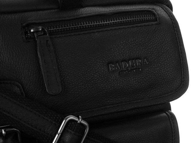 Torba męska na laptopa czarna Badura B-LAP-146-NDM-6505 B