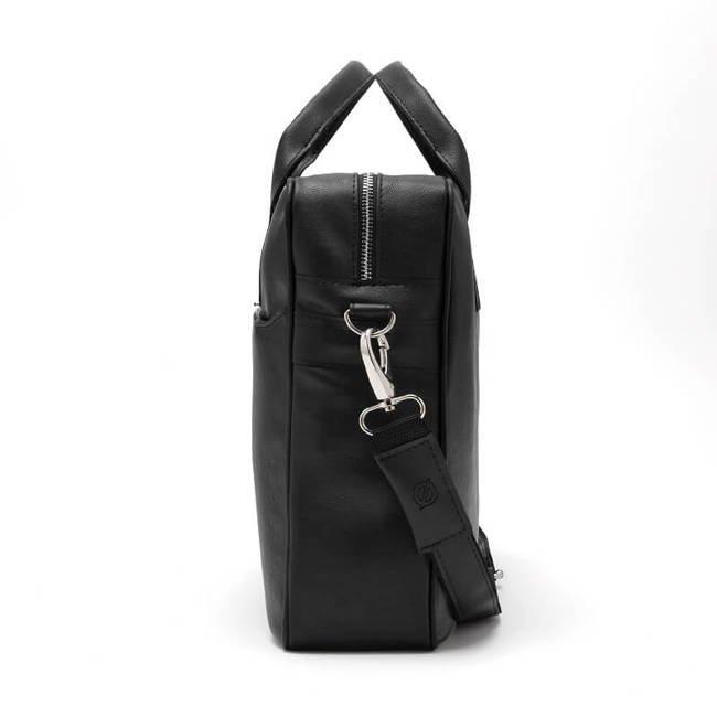 Torba męska na ramię, laptop Brodrene B12 czarna