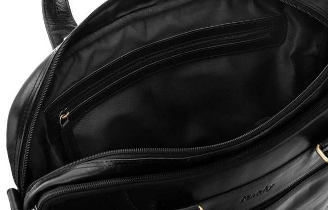 Torba na laptopa czarna Rovicky  801-15-CCVT BLACK
