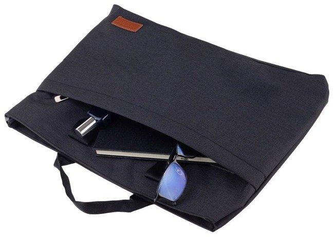 Torba na laptopa granatowa Rovicky NB0996-L-4535 NAVY