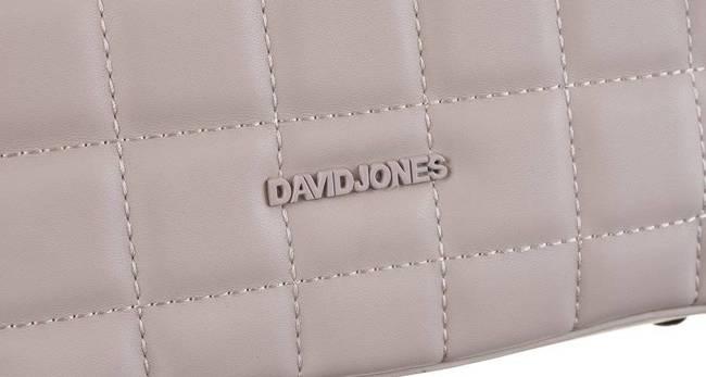 Torebka damska beżowa David Jones 6288-1