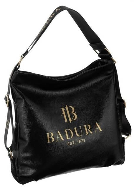 Torebka damska czarna Badura T_D144CZ_CD