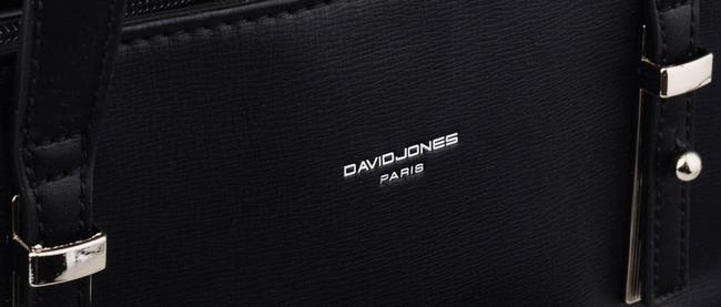 Torebka damska czarna David Jones 6172-1