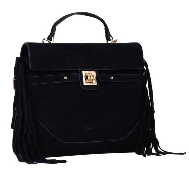 Torebka damska czarna Monnari BAG1690-020