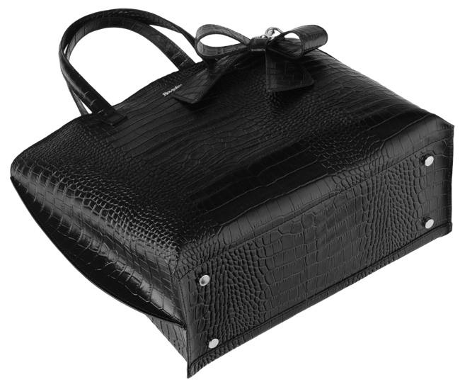 Torebka damska czarna ROVICKY TWR-83