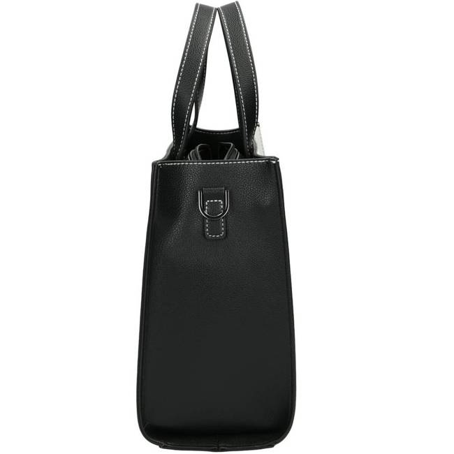 Torebka damska czarno-biała NOBO NBAG-J0520-C000