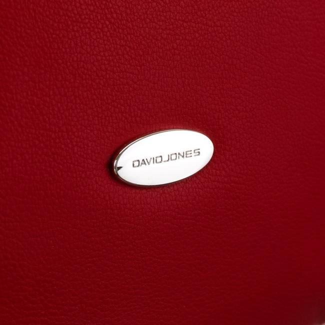 Torebka damska czerwona David Jones CM5725