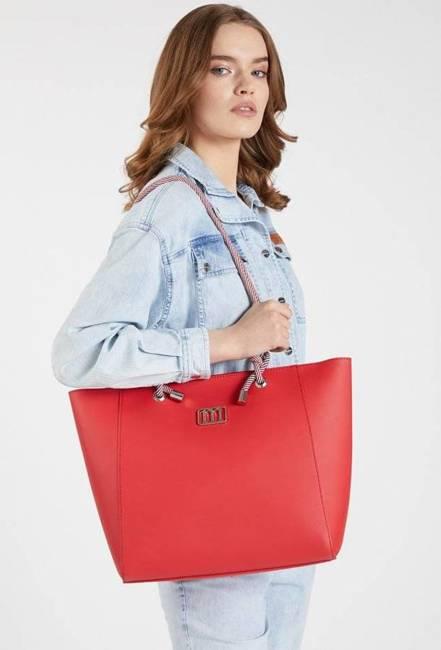 Torebka damska czerwona Monnari BAG1580-005