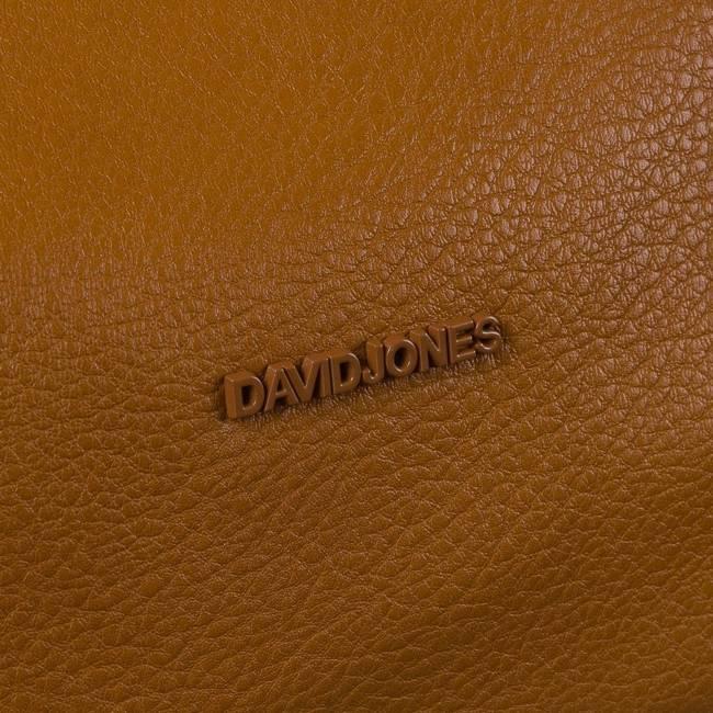 Torebka damska jasny brąz David Jones CM6003