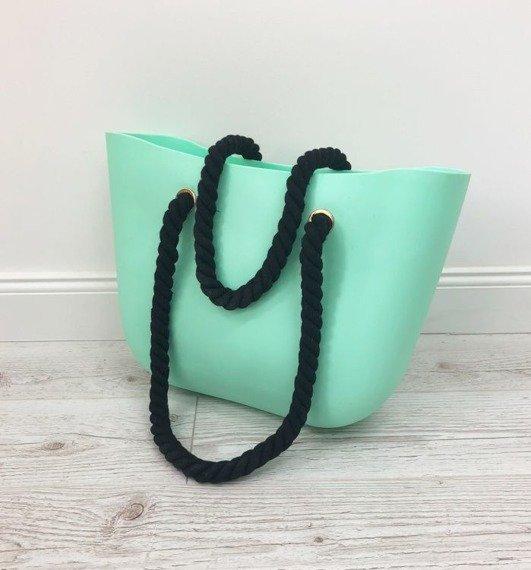 Torebka damska jelly bag CAT27 miętowa