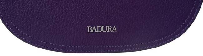 Torebka damska listonoszka fioletowa Badura T_D090FI_CD