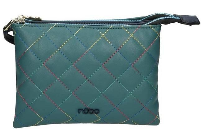 Torebka damska listonoszka zielona NOBO NBAG-J0680-C012