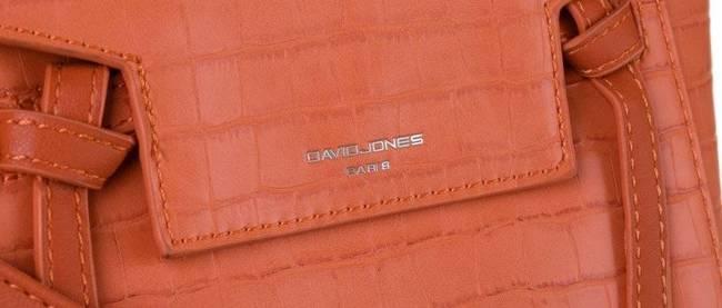 Torebka damska pomarańczowa David Jones CM5639 ORANGE