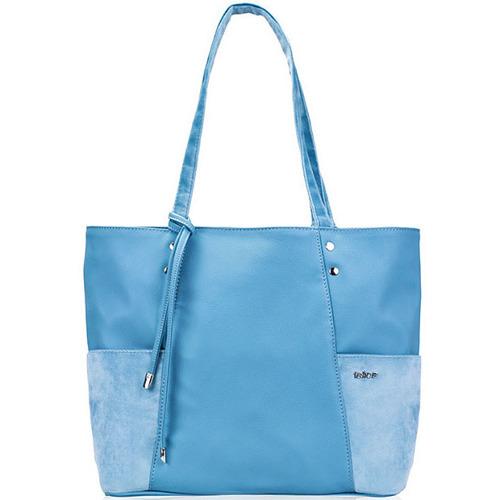 Torebka damska shopper Felice Bonita FB03 błękitna