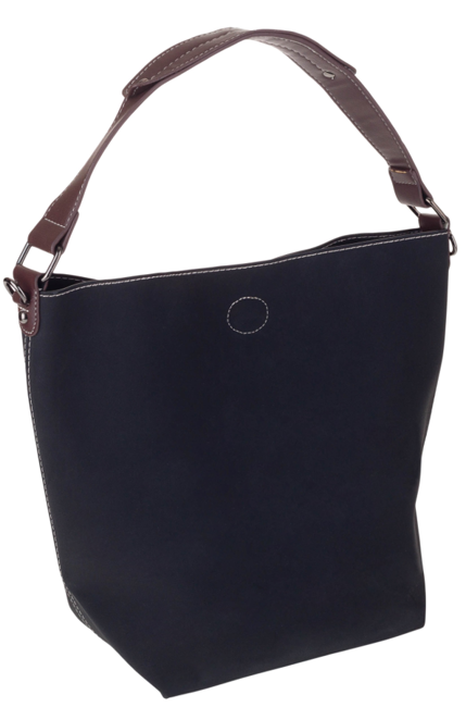 Torebka damska shopper bag 2w1 czarna David Jones CM5325A