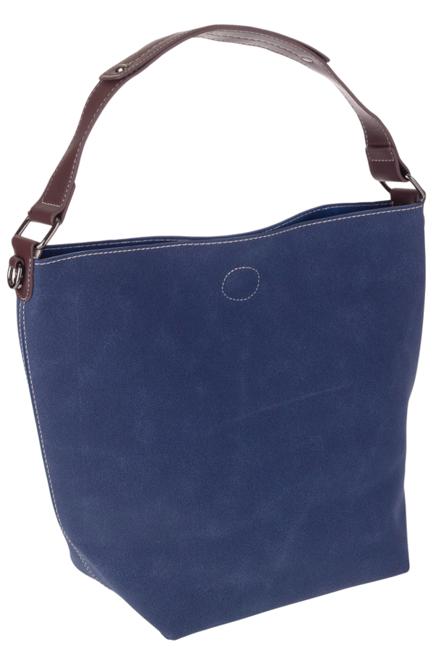 Torebka damska shopper bag 2w1 granatowa David Jones CM5325A