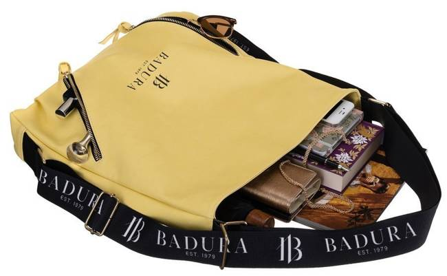 Torebka damska shopper żółta Badura TD_207ZOL_CD