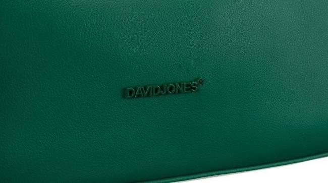 Torebka damska zielona David Jones CM6042