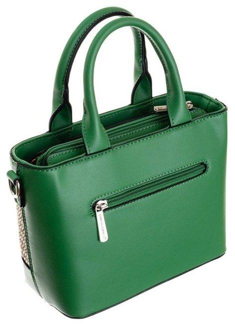 Torebka damska zielona koszyk David Jones CM5726