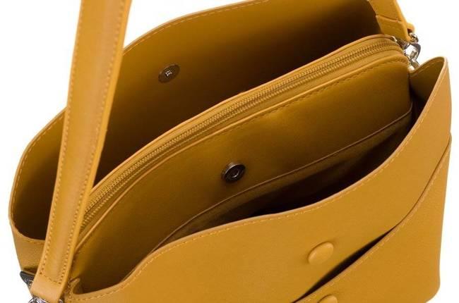 Torebka damska żółta David Jones CM5769