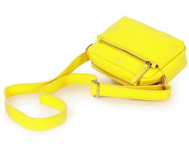 Torebka damska żółta MARCO MAZZINI L190e