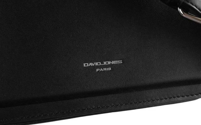 Torebka listonoszka czerń David Jones CM6034