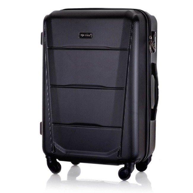 Walizka podróżna mała twarda ABS SOLIER STL946 czarna