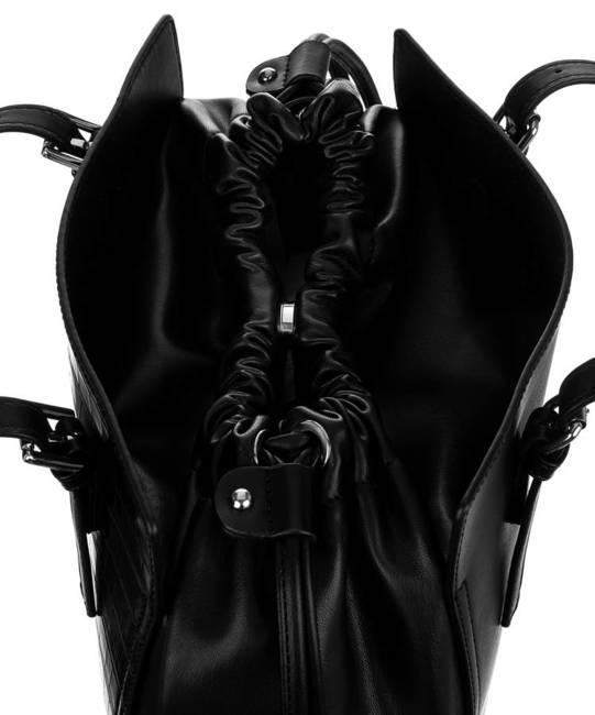 Worek czarny David Jones CM6221 BLACK