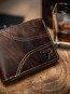 Portfel męski skórzany Buffalo Wild brązowy