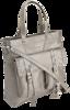 Torebka damska srebrna Monnari BAG0540-K022